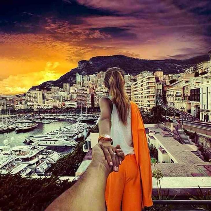 Caminando de la mano hacia Mónaco
