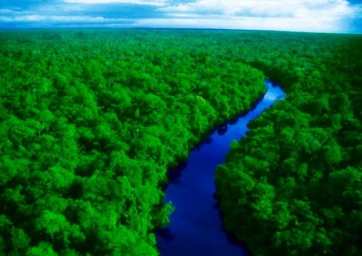 Fotografía del Río Amazonas en Perú