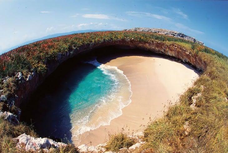 islas marietas agujero
