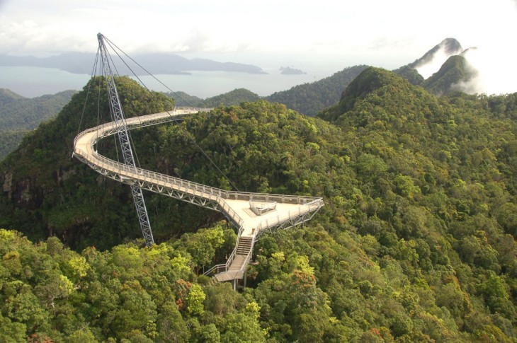 puente Langkawi Sky, Malasia