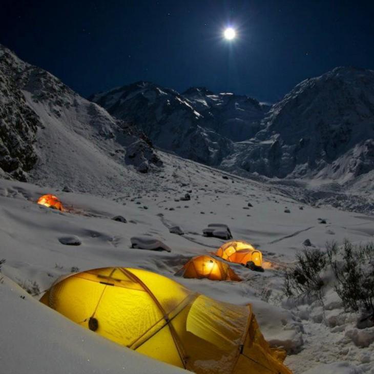 Los Mejores Lugares Para Acampar y tener una hermosa Vista