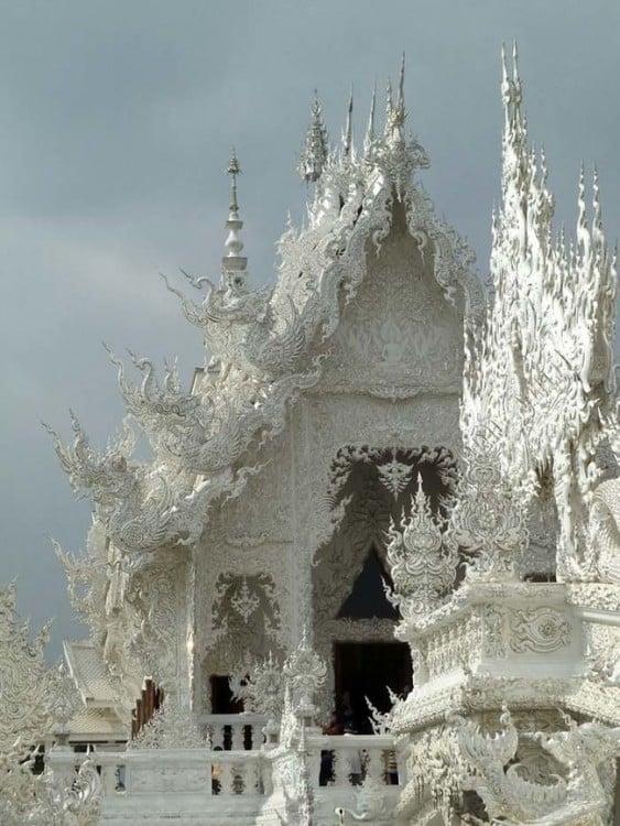 Templo Budista de Marmol Blanco de Tailandia