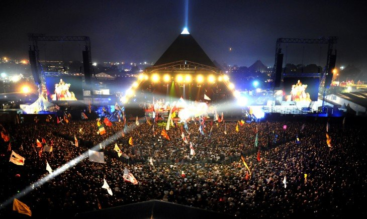 Festival de Glastonbury en Inglaterra 2013