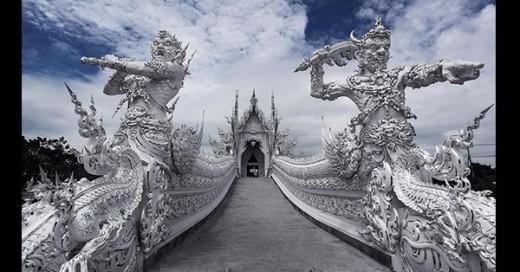 hermosos templo de cuento de hadas
