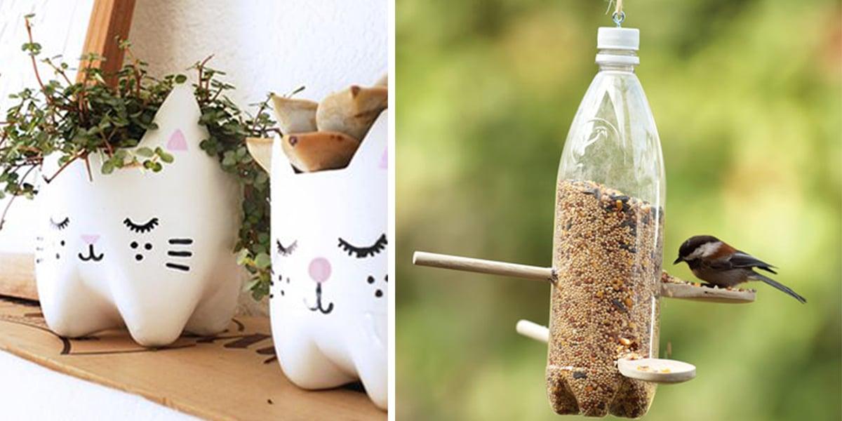 25 ideas para reutilizar o reciclar botellas de plastico - Ideas creativas para reciclar ...
