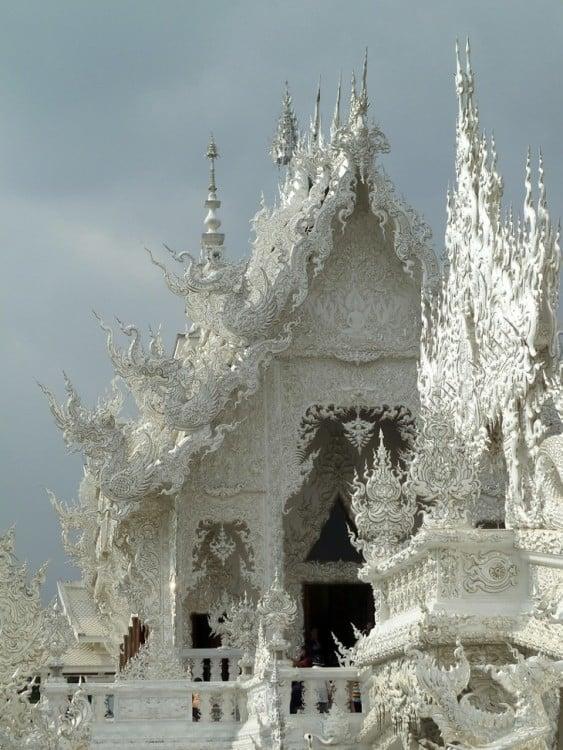 techos de marmol budistas en Tailandia