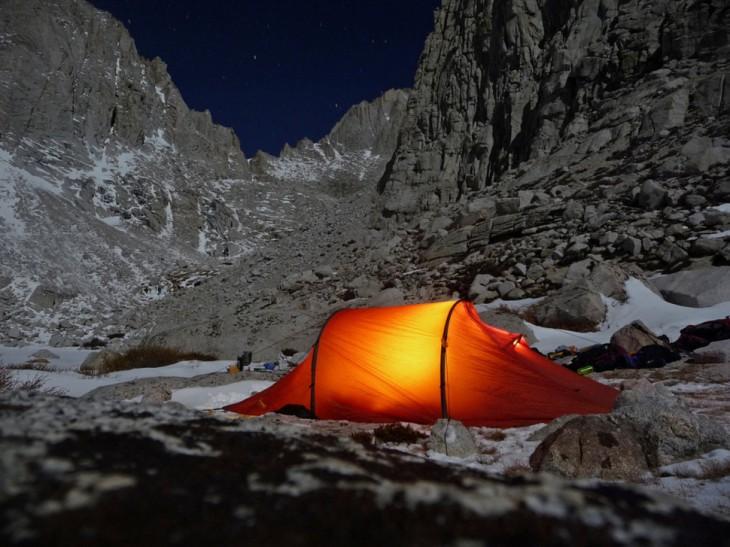 noche en monte whitney