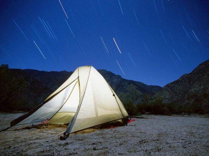 carpa noche estrellada arizona