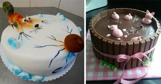 pasteles que son tan increibles por artistas