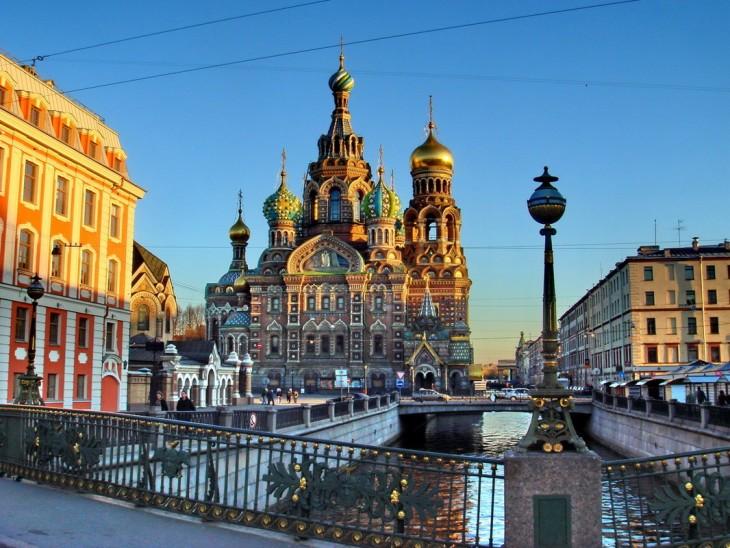 ciudad de san petersburgo en rusia
