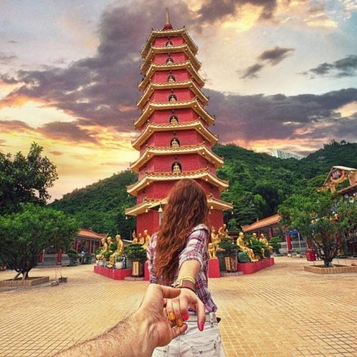 templo de los mil Budas hong kong