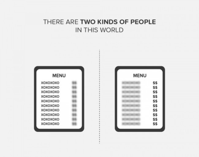 Existen 2 tipos de personas,¿cual sos vos?