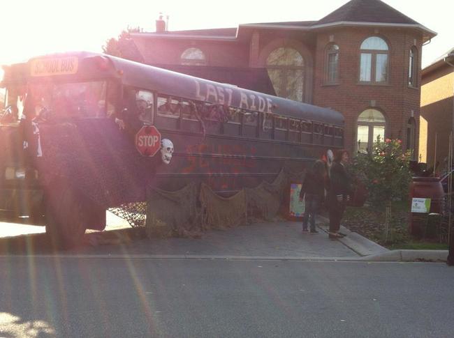 camion escolar del terror