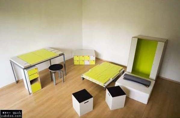 mesa y banquito