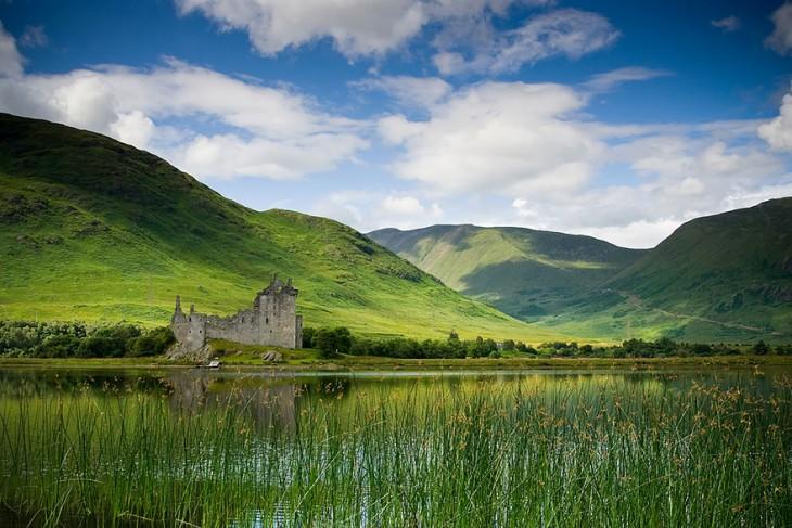 Castillo Kilchurn, Escocia