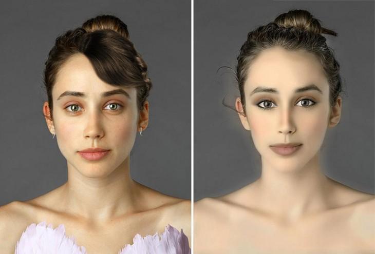 Photoshop recrea la belleza de mujeres de distintos paises y culturas