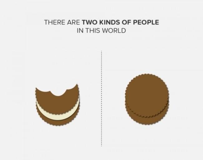 forma de comer galletas