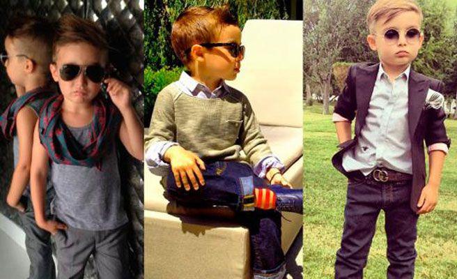 niño fashionista alfoso mateo