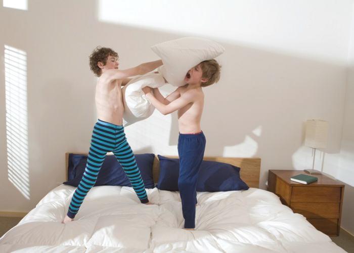 pelea de alomohada