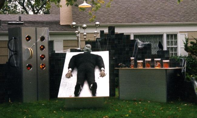 Decoraciones creativas de casas para halloween - Decoracion halloween para casa ...