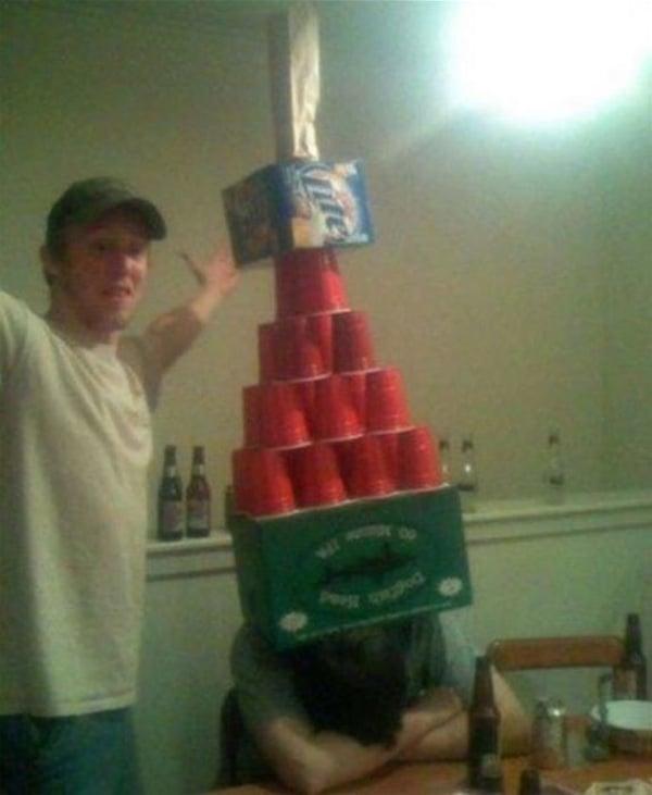 torre de vasos
