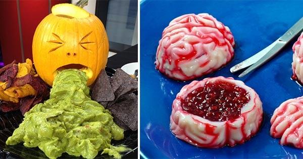 Ideas para crear comida creativa para fiestas de halloween - Fiesta de halloween infantil ...