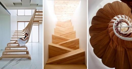 hermosas escaleras y muy creativas