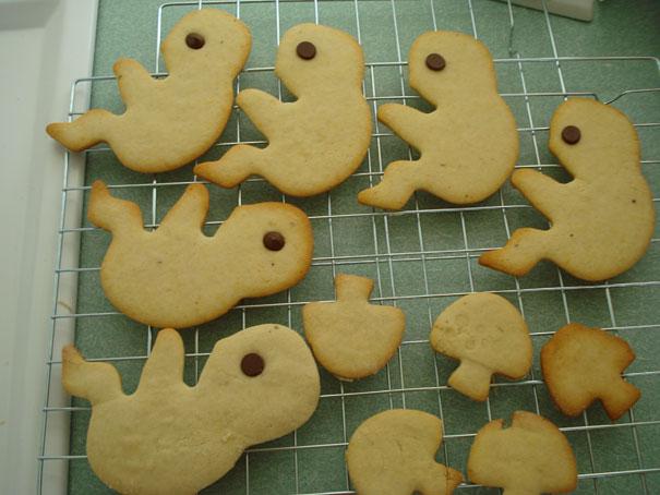 galletas en forma de alien