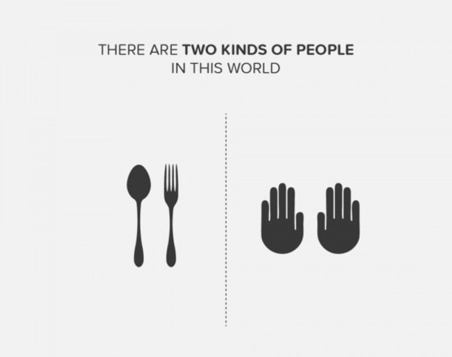 con que prefieres comer