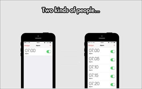 alarmas en el celular