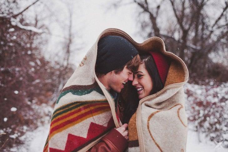 manta para taparse del frio