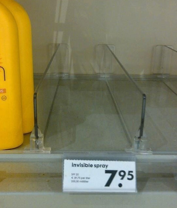 aerosol invisible
