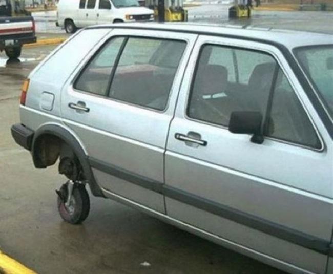 rueda pequeña
