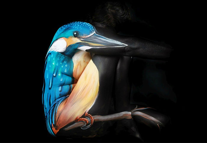 bodypaint Kingfisher синий