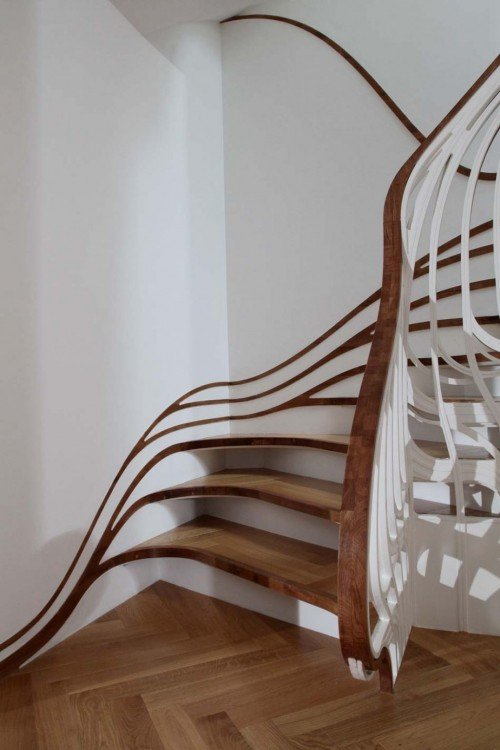 lovile.com curved-stairs-with-unique-shape