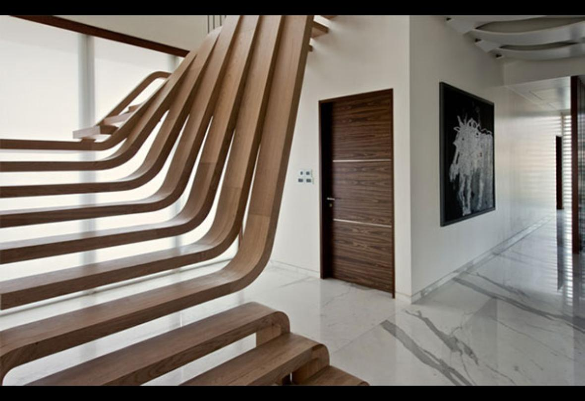 Las escaleras mas hermosas y creativas del mundo for Colores de granito para escaleras