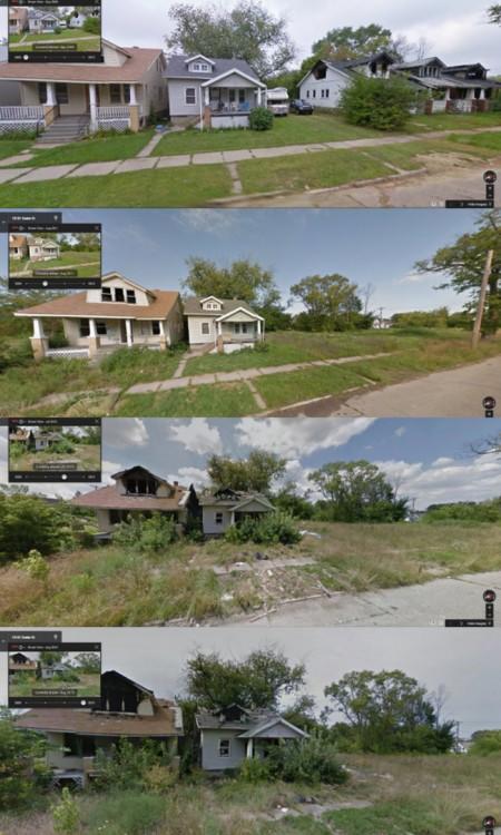 casas venidas abajo por la naturaleza
