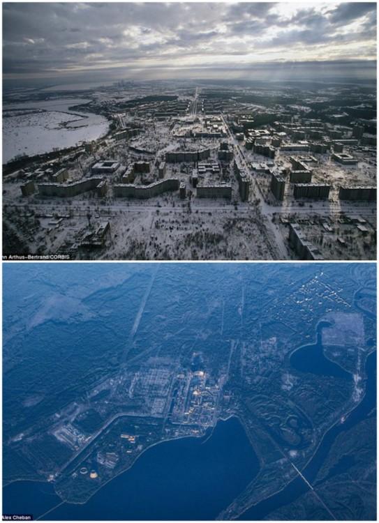 ciudad arrasada por la naturaleza