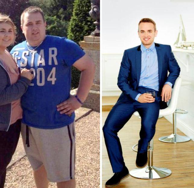 el novio antes y después