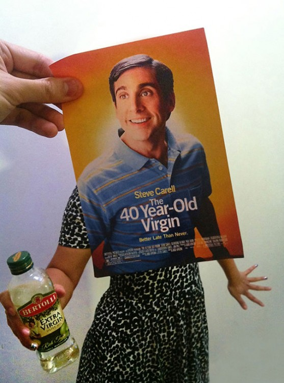 póster pelicula viejo de 40 virgen