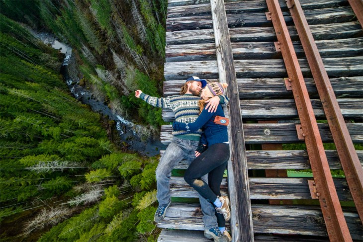 romance en las alturas