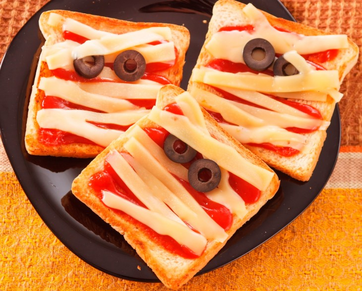 sandwich en forma de momia