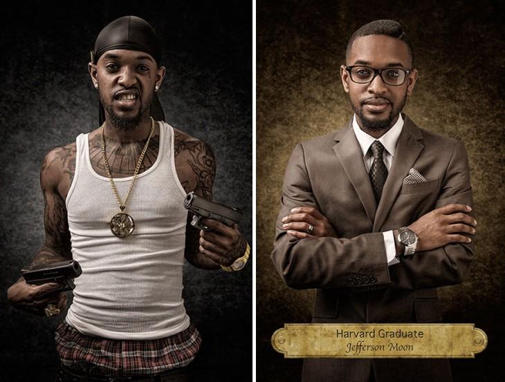 serie de fotografias sobre los prejuicios (2)
