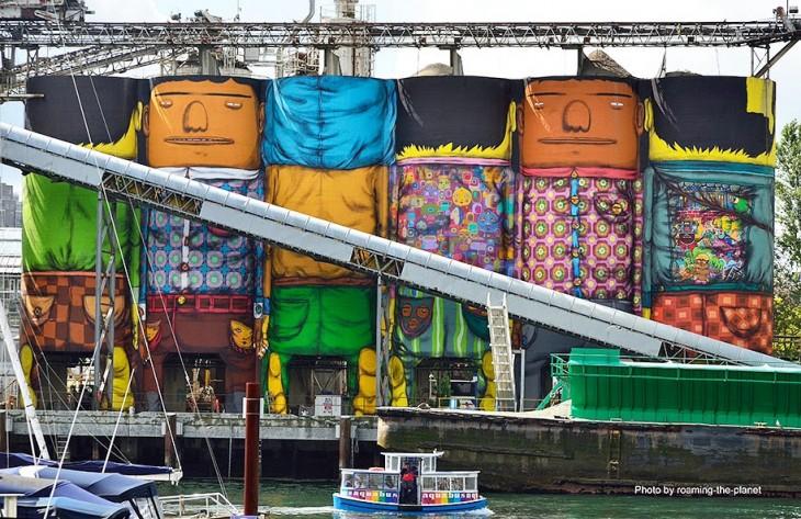silos gigantes pintados por Os Gemeos (11)
