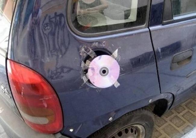 cd usado para tapar el gas