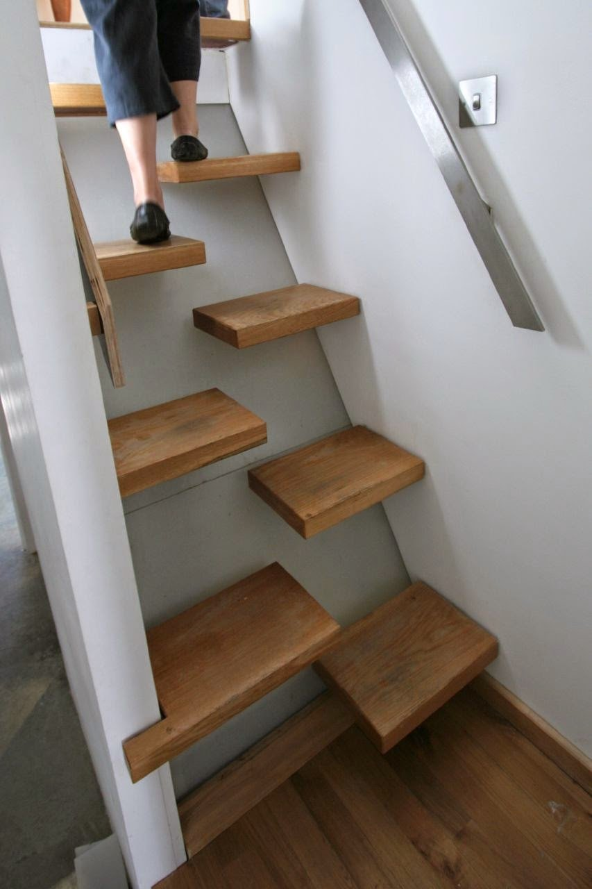 Las escaleras mas hermosas y creativas del mundo for Ideas para hacer escaleras interiores