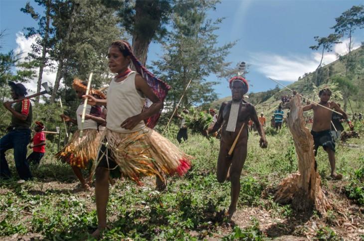 CELEBRACIÓN DEL AÑO NUEVO EN PAPUA NUEVA GUINEA