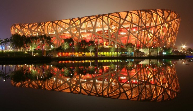 Estadio nacional de Beijin, China