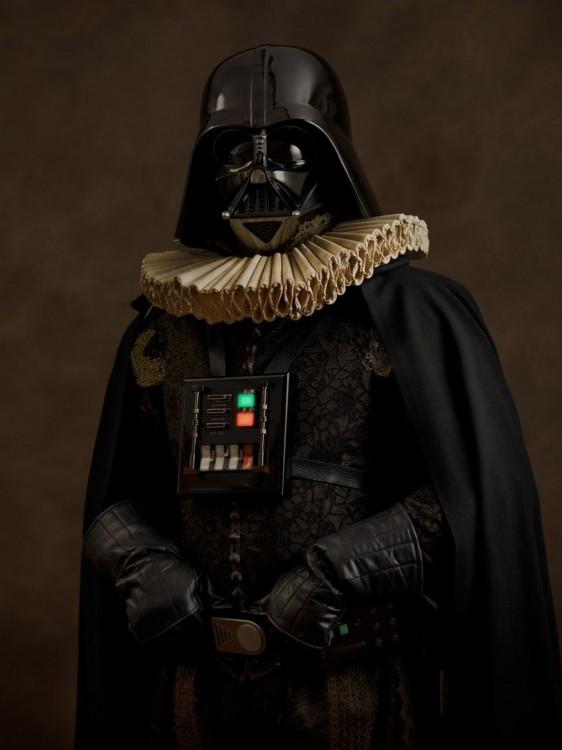 Vestimenta del siglo 16 de Dath Vader Star Wars