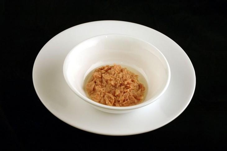 100 gramos de tuna enlatada